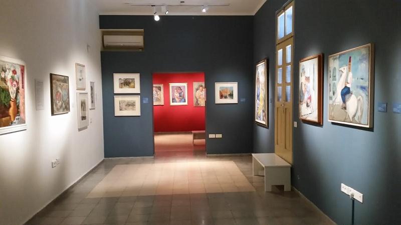 Музей Нахума Гутмана внутри
