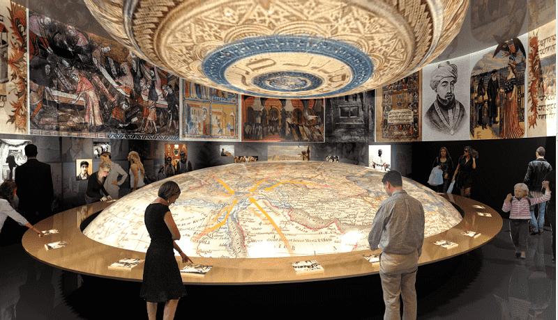 Музей Еврейской Диаспоры экспозиция