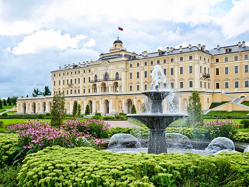 Экскурсия в Константиновский дворец в Стрельне